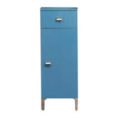 Easy Freestanding Bathroom Cabinet, Blue