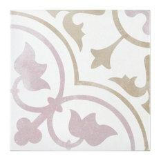 "Anabella 9""x9"" Porcelain Field Tile, Tate"