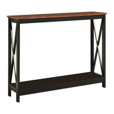 Incroyable Convenience Concepts   Oxford Console Table, Cherry   Console Tables