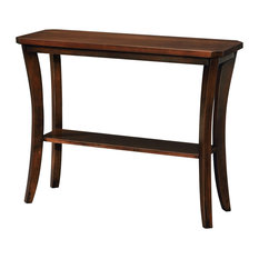 Leick Boa Console Table, Chocolate Cherry