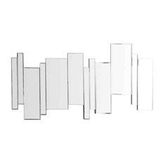 EMDE - EMDE Axel Barres Decal Wall Mirror, 50x100 cm - Wall Mirrors