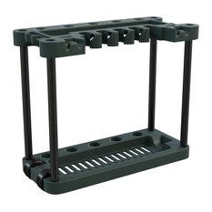 Garden Tool Storage Rack- Portable  40 Tool Capacity by Stalwart