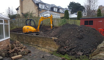 Artificial Grass and retaining wall