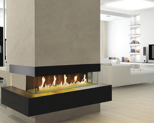 DaVinci by Travis Industries - DaVinci Bay Window - Indoor Fireplaces