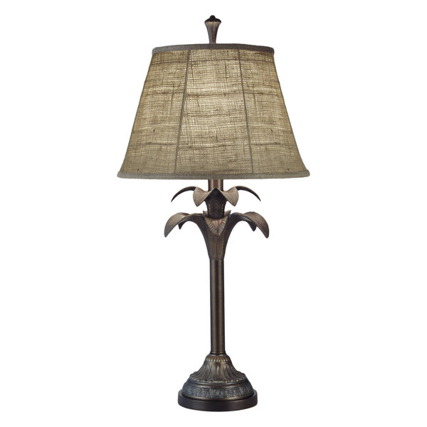 Stiffel Satin Brass Table Lamp