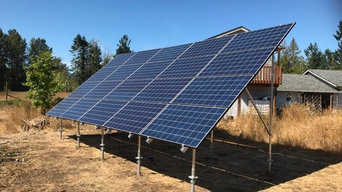5.5kW Ground Mounted Solar Panel System