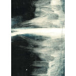 "Adri Luna Studio - Dark Abstract Art Print, 16""x20"" - This modern abstract watercolor print comes unframed and will be a lovely piece of home decor  or the perfect housewarming gift. It's a great way to add personality to your home or office."