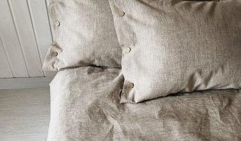 Льняное постельное белье Капучино