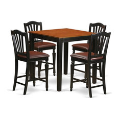 5-Piece Counter Height Kitchen Table Set
