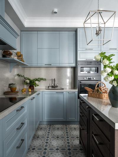 Неоклассика Кухня by Posh Interiors