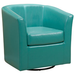 Contemporary Armchairs And Accent Chairs by GDFStudioShop Houzz  Accent Chairs With Free Shipping. Aqua Leather Accent Chair. Home Design Ideas