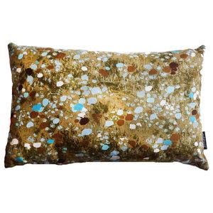 Gold Flax Field Cushion