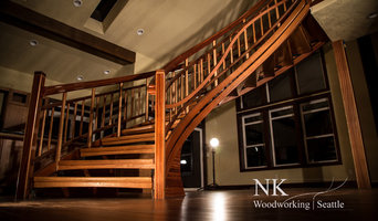 Curved Harmony - An Open Walnut and Sapele Curved Staircase