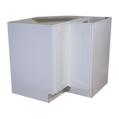 """Design House - Design House 561431 Brookings 36"""" Lazy Susan Cabinet, White Shaker - Kitchen Cabinetry"""