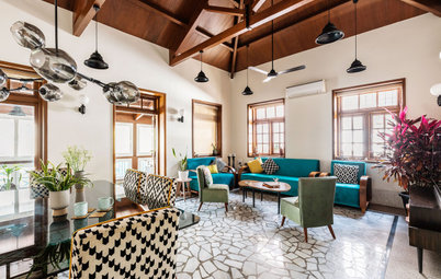 Mumbai Houzz: An 80-Year-Old Home Gets a Vibrant Facelift
