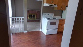 main floor and kitchen projest