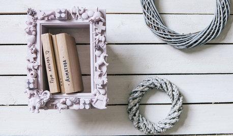 DIY: Как сделать полки в рамке своими руками