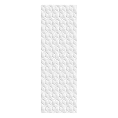 Wimbledon White Hexagon Gloss Tiles, 1 m2