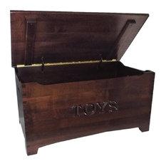Amish Brown Maple Hardwood Furniture Shaker Dovetail Toy