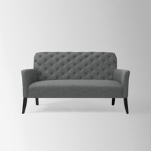 Contemporary Loveseats by West Elm