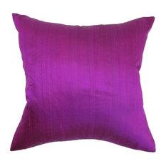 "Ekati Plain Pillow Violet 20""x20"""