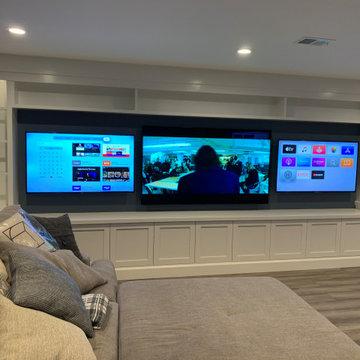 Multiple TV Wall