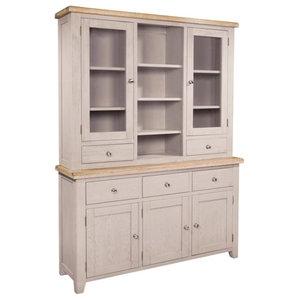 Sunhill 3-Drawer Storage Unit, Sideboard Plus Hutch