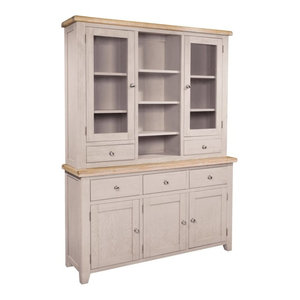 Sunhill 3-Drawer Storage Unit, Sideboard Plus Hutch