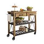 The Orleans Kitchen Island - Industrial - Kitchen Islands And Kitchen Carts - by Home Styles ...