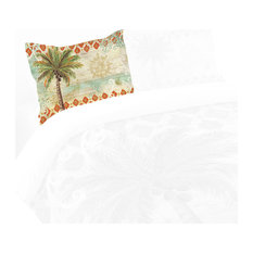 Laural Home Spice Palm Standard Pillow Sham