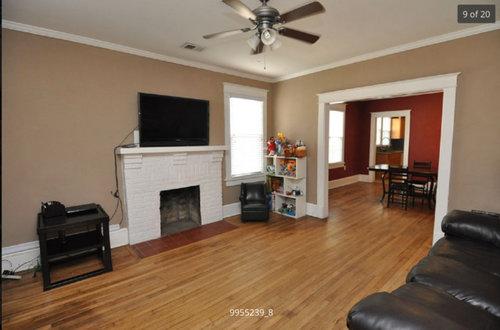 Unbalanced Living Room Fireplace 1 Window Any Ideas