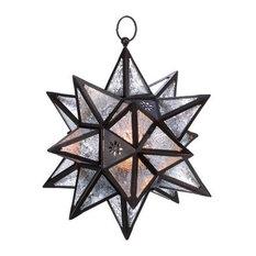 Gallery of Light - Moroccan Hanging Star Lantern - Outdoor Hanging Lights