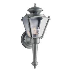Forte Lighting 1004-01 Victorian Outdoor 4.75Wx13.5Hx5.5E Wall - Nickel