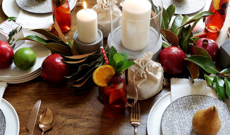 How to Style a Fresh, Fruity and Festive Table