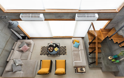What to Do With Double-Height Living Rooms