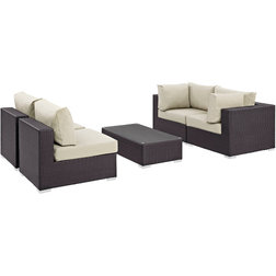Tropical Outdoor Lounge Sets by Modway