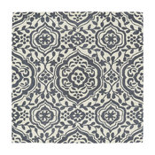 """Kaleen Hand-Tufted Evolution Gray Wool Rug, 11'9"""" Square"""