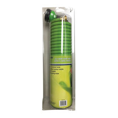 """Rugg Coiled Hose, 1/2""""x25', Green"""