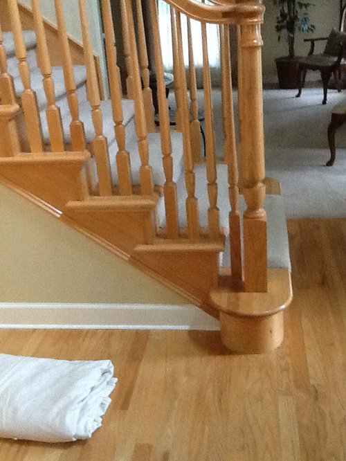 What color should I restain my wood floor?