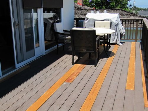 Need Help Figuring Out How To Restore A New Old Redwood Deck