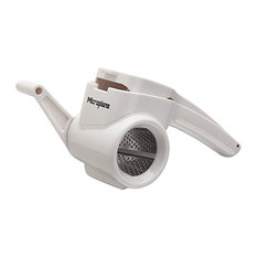 Microplane Rotary Grater, White