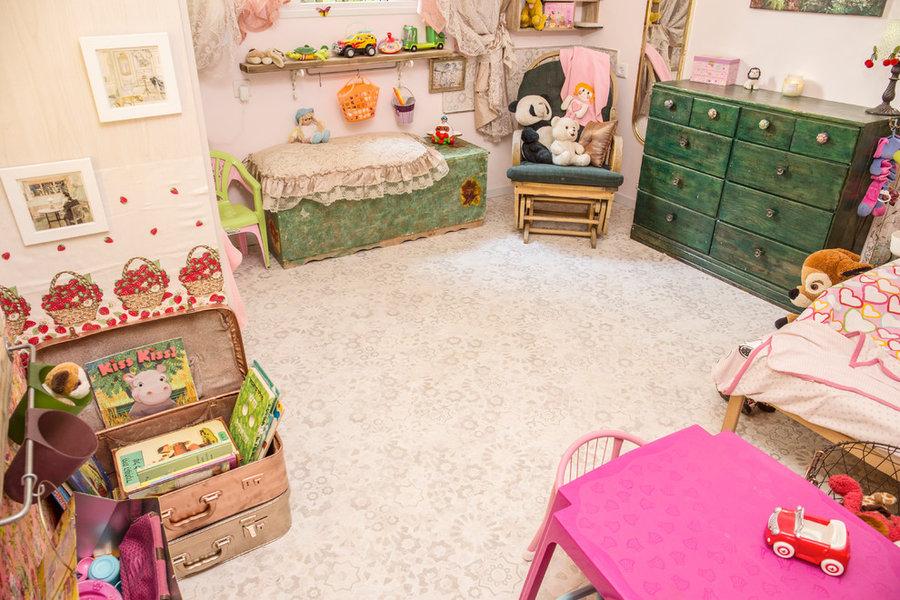 Parquet printed flooring