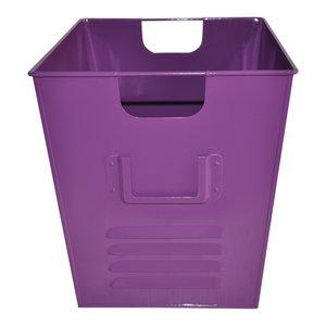 Small Oldschool Storage Bin, Violet
