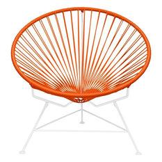 Innit Designs Innit Chair, White Base, Orange