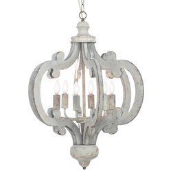 Farmhouse Chandeliers by Houzz