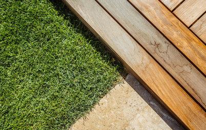 Выход на паркет: Садовый настил как доступная альтернатива террасам