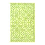 Greco Wool Rug, Green, 5'x8'