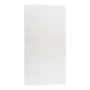 Uni White Vinyl Floor Cloth, 70x300 cm
