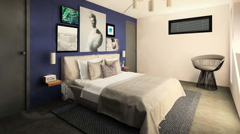 Une chambre élégante et intime