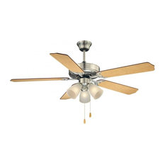 Savoy House First Value Ceiling Fan, Satin Nickel